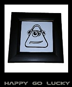 Emoticon Framed Prints - Happy Go Lucky Framed Print by Sirajudeen Kamal Batcha