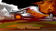 Images For Cards - Holidays - Happy Halloween by David Lane
