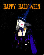 Happy Halloween Digital Art - Happy Halloween by David Lee Thompson
