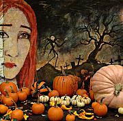 Pumpkins Digital Art - Happy Halloween by Jeff Burgess
