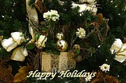 Happy Holidays Framed Prints - Happy Holidays II Framed Print by Sandy Keeton