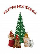 Christmas Card Greeting Cards - Happy Holidays by John Radosevich