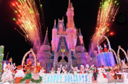 Disney Photos - Happy Holidays by Linda Pulvermacher