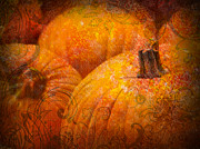 Samhain Digital Art - Happy Holidays by Lj Lambert