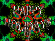 Party Digital Art - Happy Holidays by Robert Orinski
