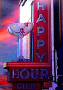 Cheers Prints - Happy Hour Print by Tracy Evans