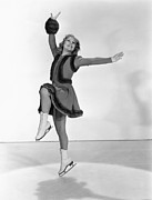 1938 Movies Photos - Happy Landing, Sonja Henie, 1938 by Everett