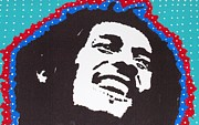 Stir Prints - Happy Marley Print by Robert Margetts