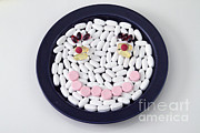 Smiley Face Posters - Happy Pills Poster by Photo Researchers, Inc.
