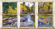 Picture Window Frame Photos Art - Happy Place Picture Window Frame Photo Fine Art by James BO  Insogna