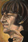Ringo Starr Art - Happy Ringo by Misty Smith