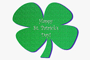 Patricks Day Card Framed Prints - Happy St. Patricks Day Framed Print by viZualstudio