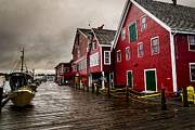 Trio Prints - Harbor at Mahone Bay Print by Darcy Michaelchuk