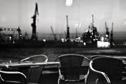 Signed Photo Prints - Harbor Hamburg Print by Thomas P