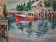 Peter Spataro - Harbor in Maine