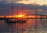 Deb  Kestler - Harbor Sunset