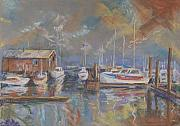 Pleasure Pastels - Harbor View by Carol Thompson