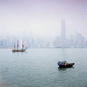 Development Of Life Photos - Harbor View, Hong Kong, China by Brian Caissie