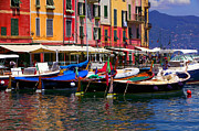 Portofino Italy Originals - Harbour by John Galbo