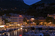 Rhone Alpes Framed Prints - Harbour Lights Framed Print by Rod Jones