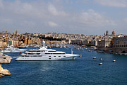 Yacht Photo Originals - Harbour Valletta. by Terence Davis