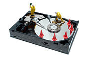 Disc Art - Hard Drive Repair by Olivier Le Queinec