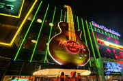 Hard Rock Cafe Prints - Hard Rock Cafe - Las Vegas Print by Yhun Suarez
