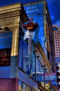 Hard Rock Cafe Prints - Hard Rock Cafe - Seattle Print by David Patterson