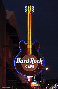 Suhas Tavkar Framed Prints - Hard Rock Cafe in Memphis Framed Print by Suhas Tavkar