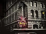 Hard Rock Cafe Posters - Hard Rock Philly Poster by Bill Cannon