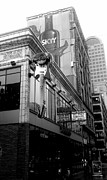 Pop Icon Photos - Hard Rock Seattle BW by Kevin D Davis