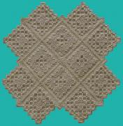 Hand Embroidery Tapestries - Textiles - Hardanger - 3 by Shirley Heyn