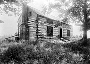 Log Cabin Photos - HARDSCRABBLE CABIN, c1890 by Granger