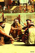 Haridwar Prints - Haridwar - India - 5 Print by Amir Abbasi
