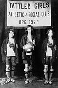 Basketball Player Prints - Harlem: Basketball, 1924 Print by Granger