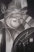 African-american Drawings - Harlem of the South II by Adrian Pickett Jr