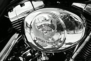 Harley Davidson Framed Prints - Harley Davidson Bike - Chrome Parts 22 Framed Print by Aimelle