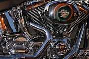 Harley Davidson Photos - Harley-Davidson Motorcycle . 7D12758 by Wingsdomain Art and Photography