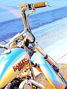 Motorbike Posters - Harley-Davidson Poster by Wingsdomain Art and Photography