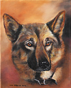 German Sheppard Prints - Harley Print by Lisa McBride