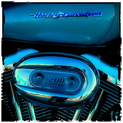 Cruiser Photo Posters - Harley Sportster 1200 Poster by David Patterson