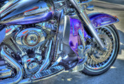 Harley Davidson Photos - Harley  by Tracy Thomas