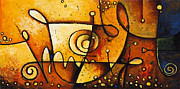 Lifestyle Painting Originals - Harmonious Spectrum 2 by Madhav Singh