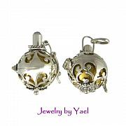 Ball Jewelry - Harmony ball chiming pendant locket DB10 by Jewelry by Yael