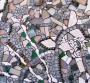 Mosaic Mixed Media - Harmony by Cristina-Mary Buzamet