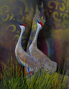 Migratory Bird Painting Framed Prints - Harmony Framed Print by Dee Carpenter