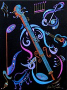 Harmony In Strings Print by Bill Manson