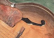 Guitars Paintings - Harmony by Ken Powers