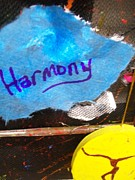 Downtown Mixed Media Originals - Harmony  by Laurette Escobar