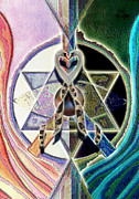 Horus Metal Prints - Harmony of Duality Metal Print by Saarah Esther Felix